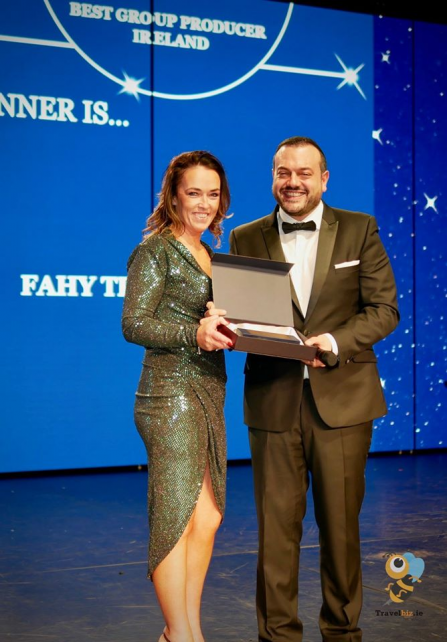Fahy Travel Galway Cruise Worldwide At Fahy Travel win award with MSC