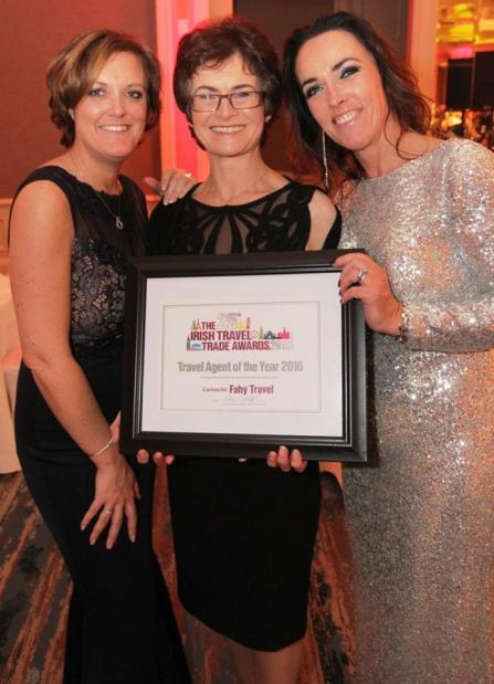 Fahy Travel Galway WE WIN ITTN TRAVEL AGENCY OF THE YEAR 2016!!!!