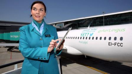 Fahy Travel Galway Aer Lingus roll out Wifi