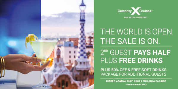 Celebrity Cruises Offer